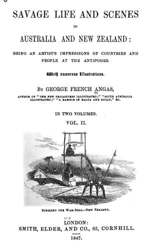 Savage Life and Scenes in Australia and New Zealand Vol. 2 (1847)