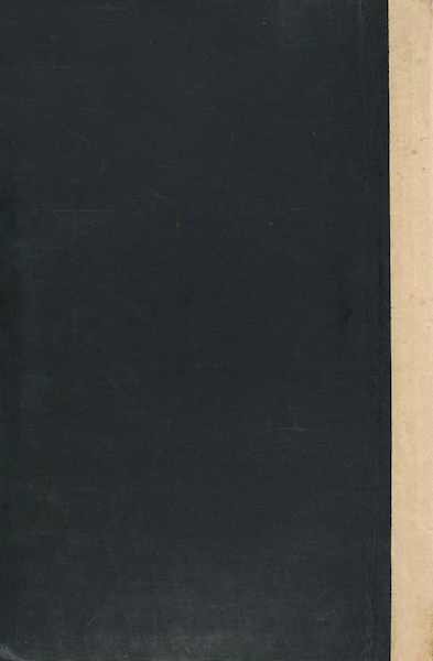 Scenery and Reminiscences of Ceylon - Back Cover (1845)