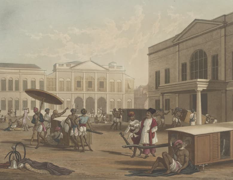 Scenery, Costumes and Architecture, Chiefly on the Western Side of India - Scene in Bombay [I] (1826)