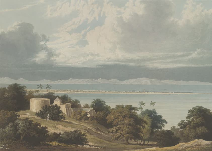 Scenery, Costumes and Architecture, Chiefly on the Western Side of India - Approach of the Monsoon, Bombay Harbour (1826)