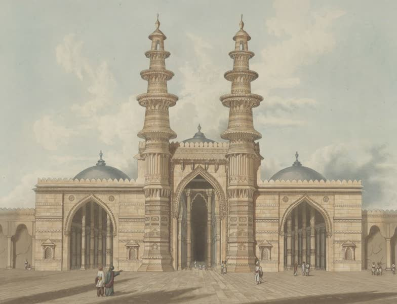 Scenery, Costumes and Architecture, Chiefly on the Western Side of India - The Shaking Minarets at Ahmedabad, drawn in 1809 (1826)