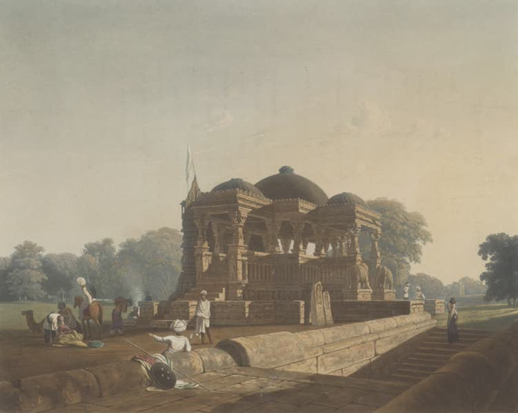 Scenery, Costumes and Architecture, Chiefly on the Western Side of India - Ancient Temple at Hulwud (1826)