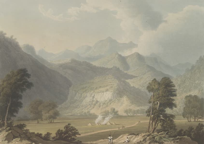 Scenery, Costumes and Architecture, Chiefly on the Western Side of India - Approach to the Bore Ghaut (1826)