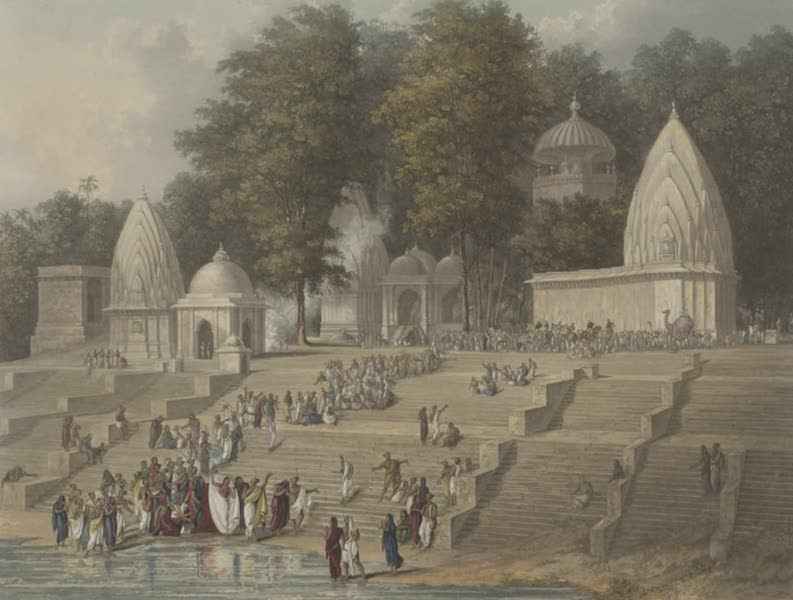 Scenery, Costumes and Architecture, Chiefly on the Western Side of India - Preparation for a Suttee, or the Immolation of a Hindoo Widow (1826)