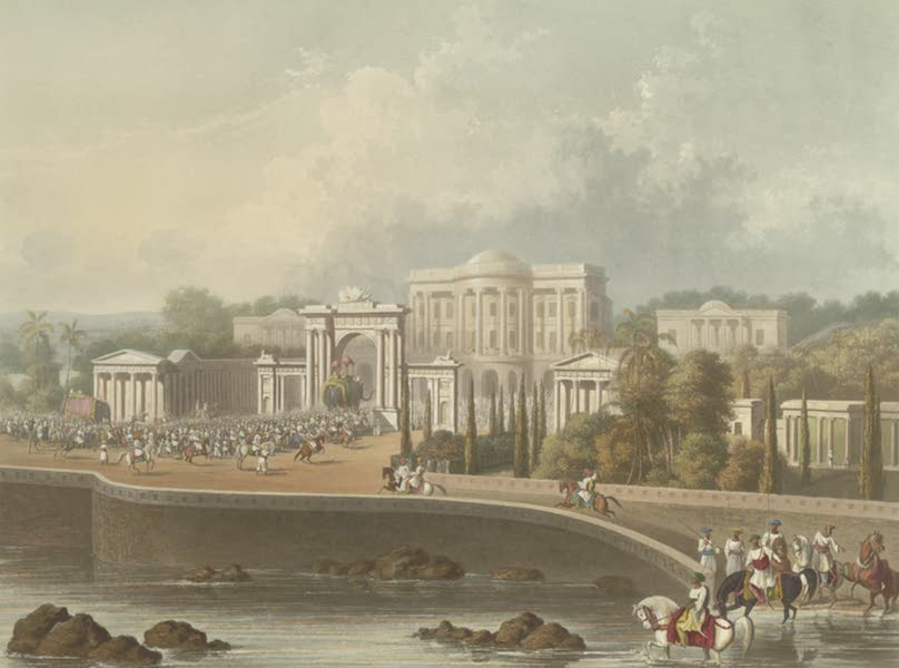 Scenery, Costumes and Architecture, Chiefly on the Western Side of India - The British Residency at Hyderabad, drawn in 1813 (1826)