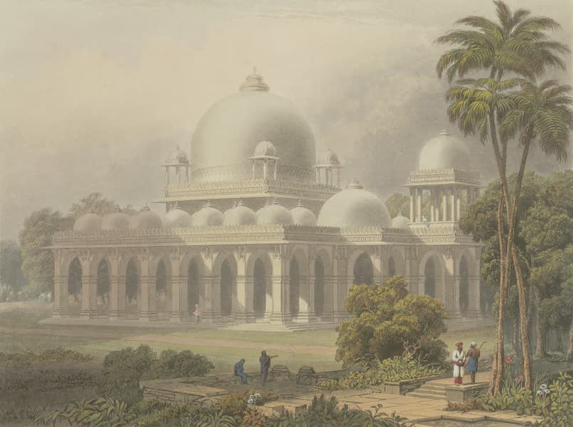 Scenery, Costumes and Architecture, Chiefly on the Western Side of India - The Roza at Mehmoodabad in Guzerat, or tomb of the Vizier of Sultan Mehmood (1826)