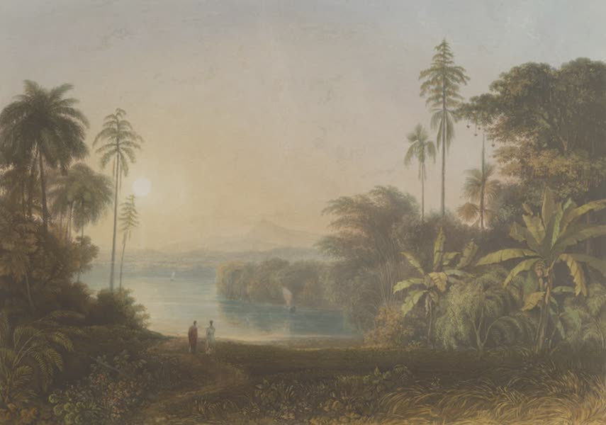 Scenery, Costumes and Architecture, Chiefly on the Western Side of India - View in the Island of Ceylon, from the Residence of Sir Alexander Johnston (1826)