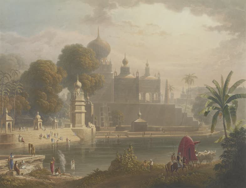 Scenery, Costumes and Architecture, Chiefly on the Western Side of India - View of Sassoor in the Deccan, drawn in 1813 (1826)