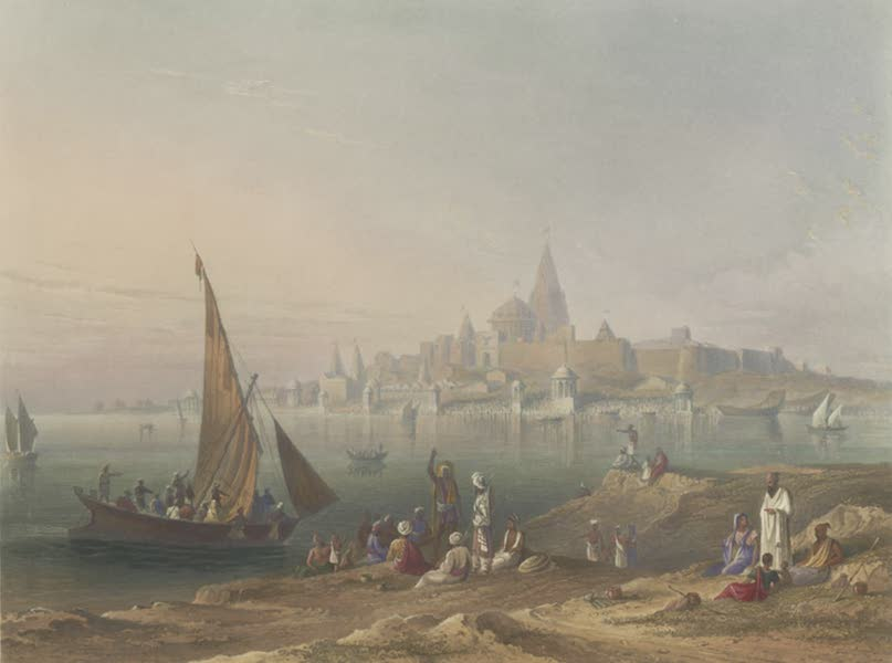 Scenery, Costumes and Architecture, Chiefly on the Western Side of India - The Sacred Town and Temples of Dwarka (1826)