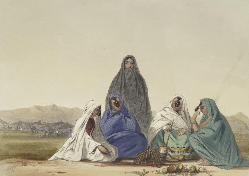 Scenery, Inhabitants, & Costumes, of Afghaunistan - Ghiljie women of the lower orders (1848)