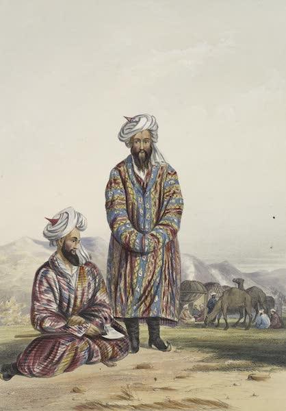 Scenery, Inhabitants, & Costumes, of Afghaunistan - Oosbegs of Mooraud Bey (1848)