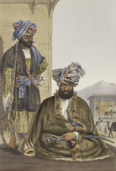 Scenery, Inhabitants, & Costumes, of Afghaunistan - Gool Mahommed Khaun King of the Ghilgies (1848)