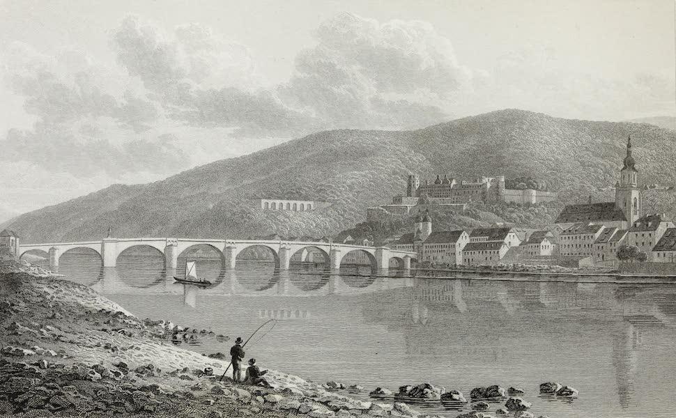 Scenery of the Rhine, Belgium and Holland - Heidelberg (1826)