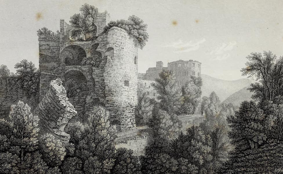 Scenery of the Rhine, Belgium and Holland - The Broken Tower, Heidelberg (1826)