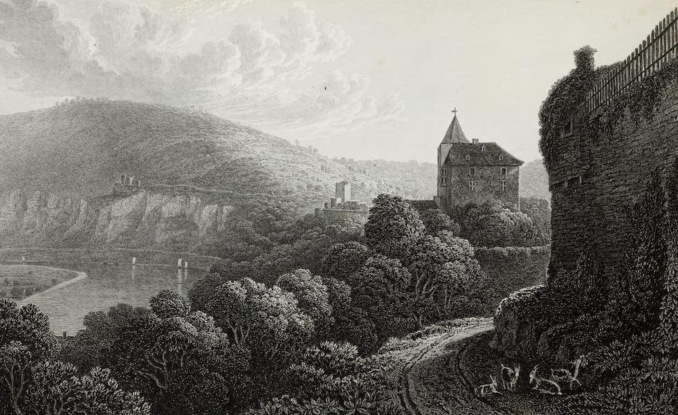 Scenery of the Rhine, Belgium and Holland - Neckarsteinach (1826)