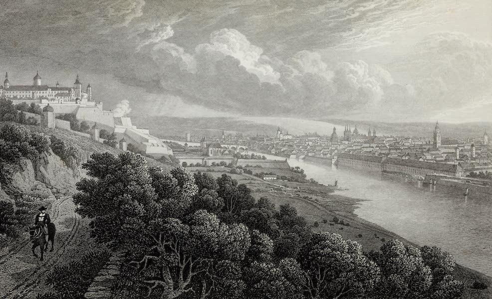 Scenery of the Rhine, Belgium and Holland - Wurzburg (1826)