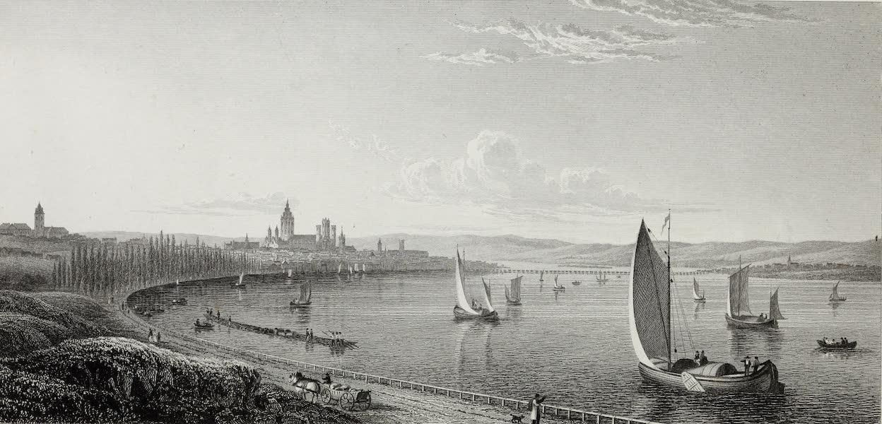 Scenery of the Rhine, Belgium and Holland - Mayence (1826)