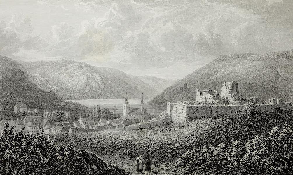 Scenery of the Rhine, Belgium and Holland - Bingen (1826)