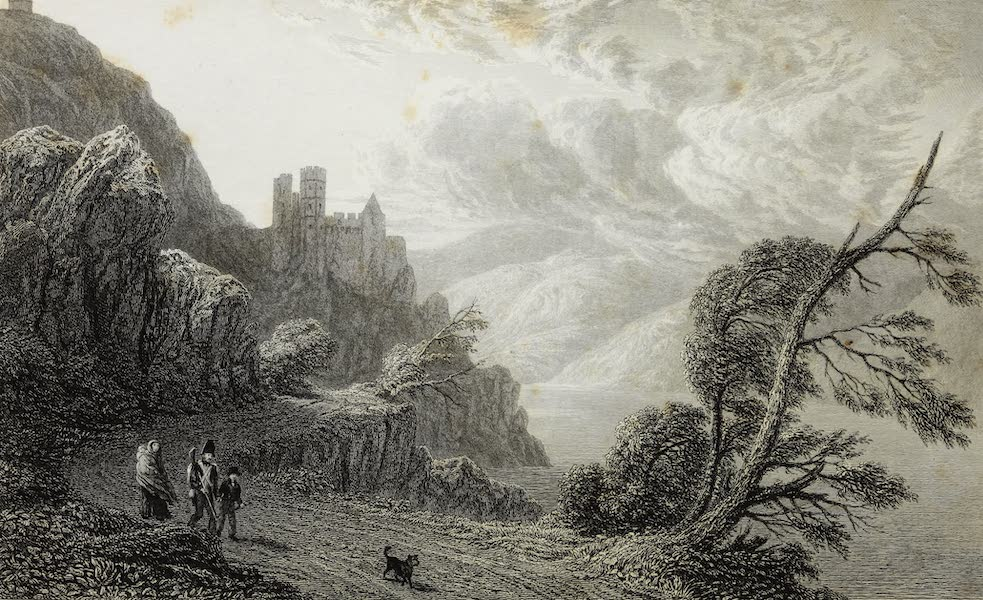 Scenery of the Rhine, Belgium and Holland - Rheinstein, or Reichenstein (1826)