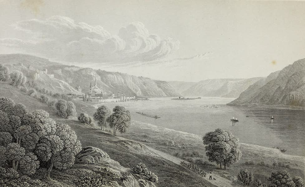 Scenery of the Rhine, Belgium and Holland - Bacharach (1826)