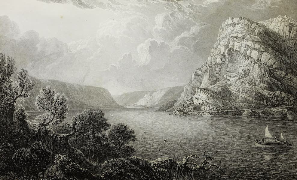Scenery of the Rhine, Belgium and Holland - The Lurley Berg (1826)