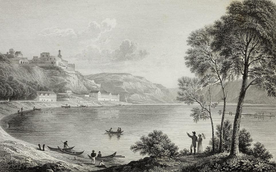 Scenery of the Rhine, Belgium and Holland - Rheinfels (1826)