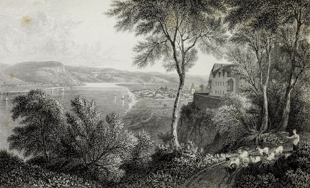 Scenery of the Rhine, Belgium and Holland - The Apollinarisberg (1826)