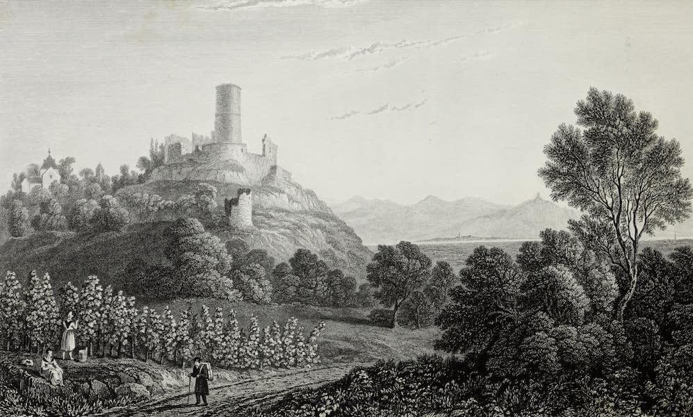 Scenery of the Rhine, Belgium and Holland - Godesberg (1826)