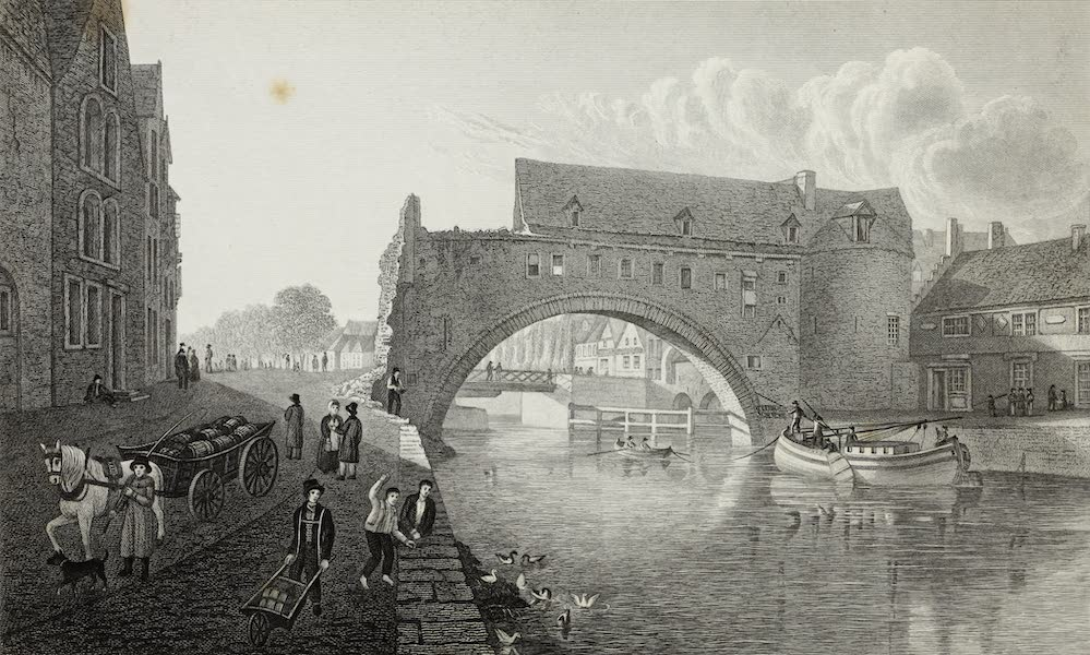 Scenery of the Rhine, Belgium and Holland - Roman Arch at Tournay (1826)