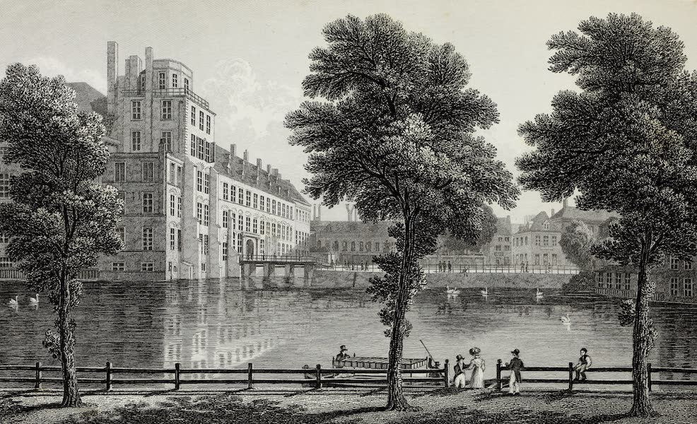 Scenery of the Rhine, Belgium and Holland - The Palace at The Hague (1826)