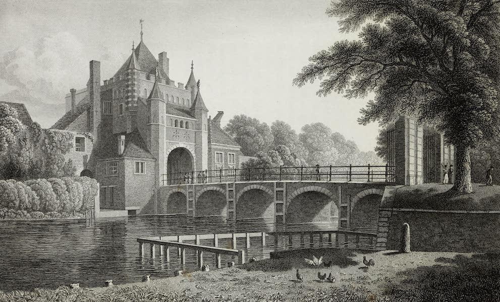 Scenery of the Rhine, Belgium and Holland - Groote Hout-Poort, Haarlem (1826)