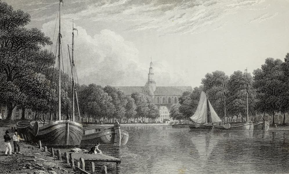 Scenery of the Rhine, Belgium and Holland - Haarlem (1826)