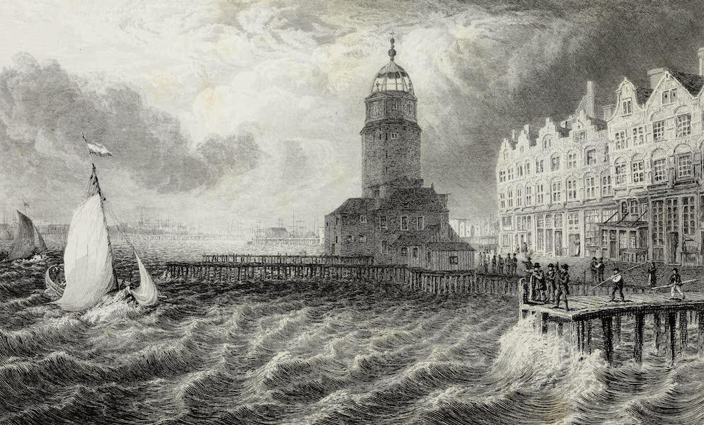 Scenery of the Rhine, Belgium and Holland - The Herring Tower, Amsterdam (1826)