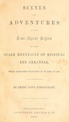 Library of Congress - Scenes and Adventures in the Semi-Alpine Region