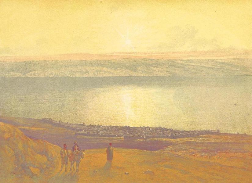 Scenes in the East - Tiberias (1870)