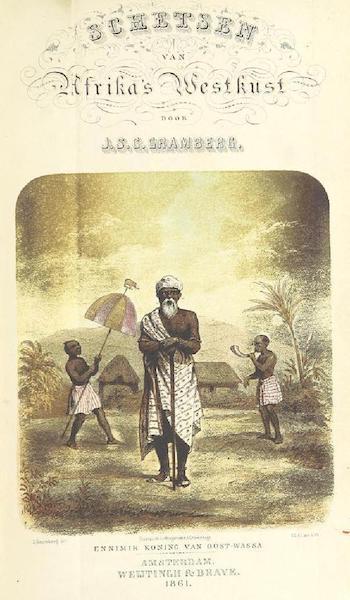 Schetsen van Afrika's Westkust - Title Page (Ennimer Konig van Oost-Wassa) (1861)