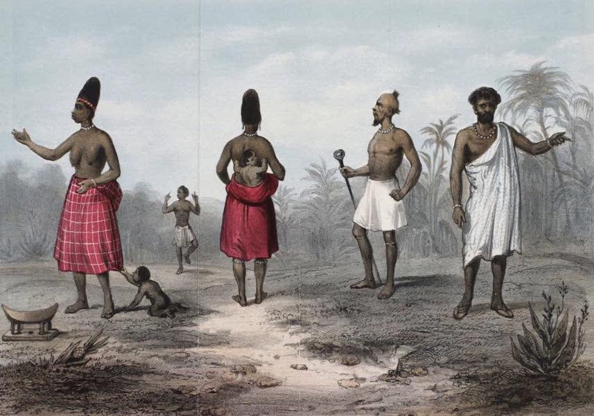 Schetsen van Afrika's Westkust - Kleederdragt der Fantijnen [Frontispiece] (1861)