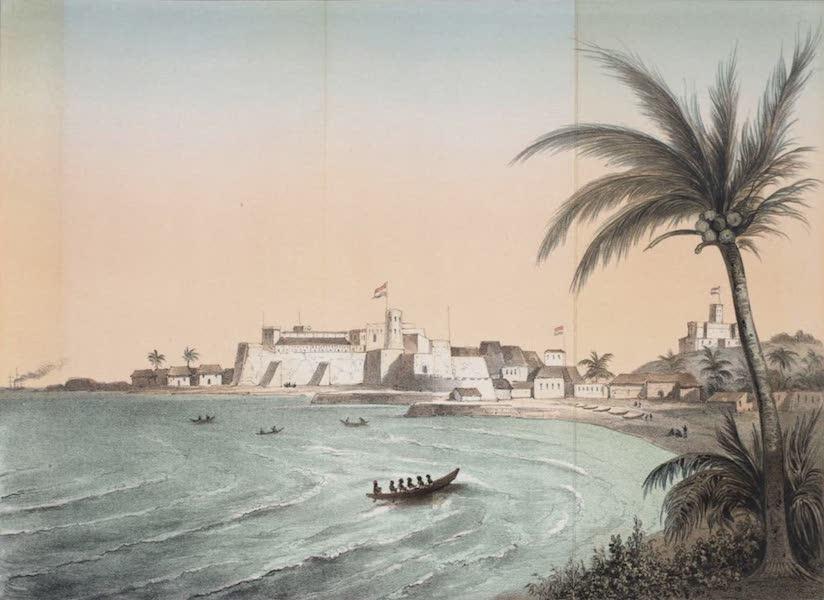 Schetsen van Afrika's Westkust - Kasteel St. George en Fort Coenraadsburg te Elmina (1861)