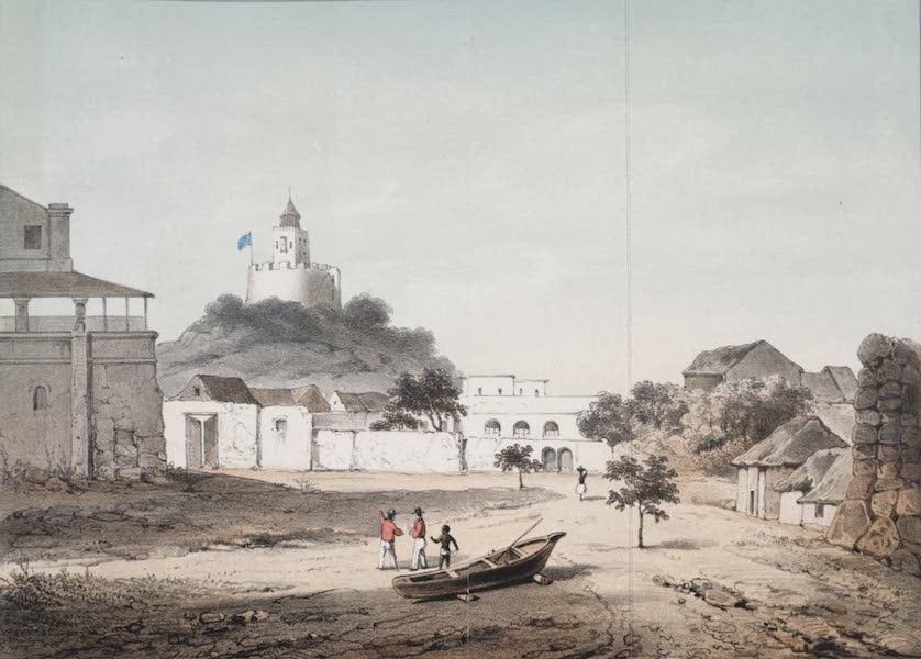 Schetsen van Afrika's Westkust - Fort William, Vuurtoren te Cape Coast (1861)