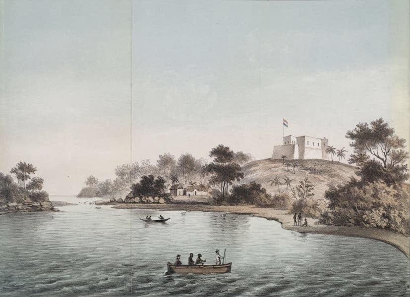 Schetsen van Afrika's Westkust - Fort Batenstein te Boutrij (1861)