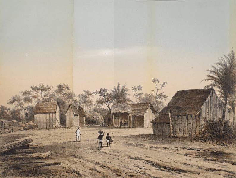 Schetsen van Afrika's Westkust - Amantin, Residentie des Konings van Wassa (1861)