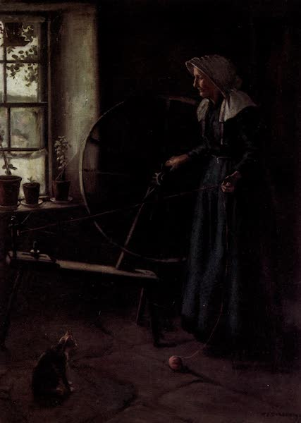 Scottish Life and Character - The Spinning-Wheel (1906)