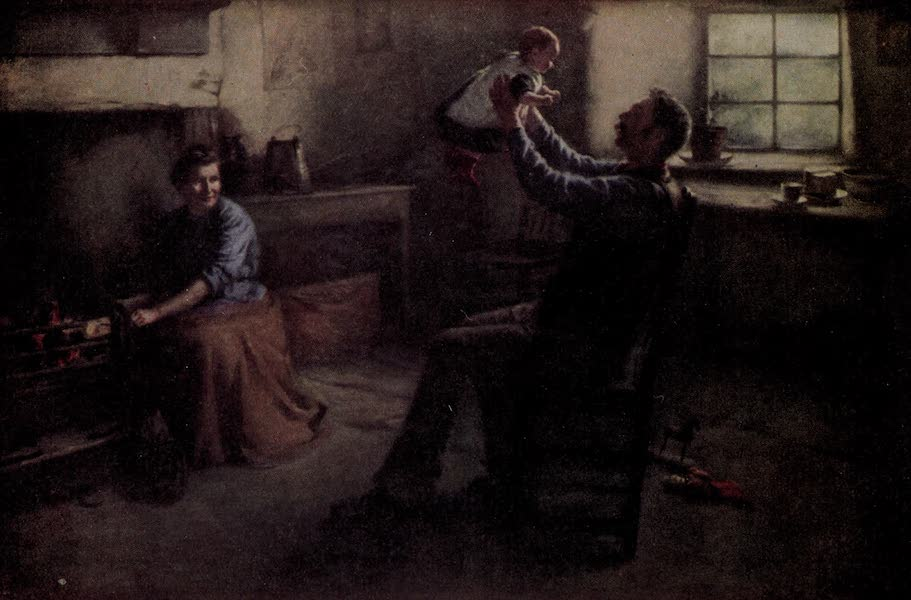 Scottish Life and Character - The Light of the Home (1906)