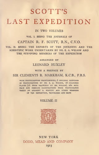 Scott's Last Expedition Vol. 2 (1913)