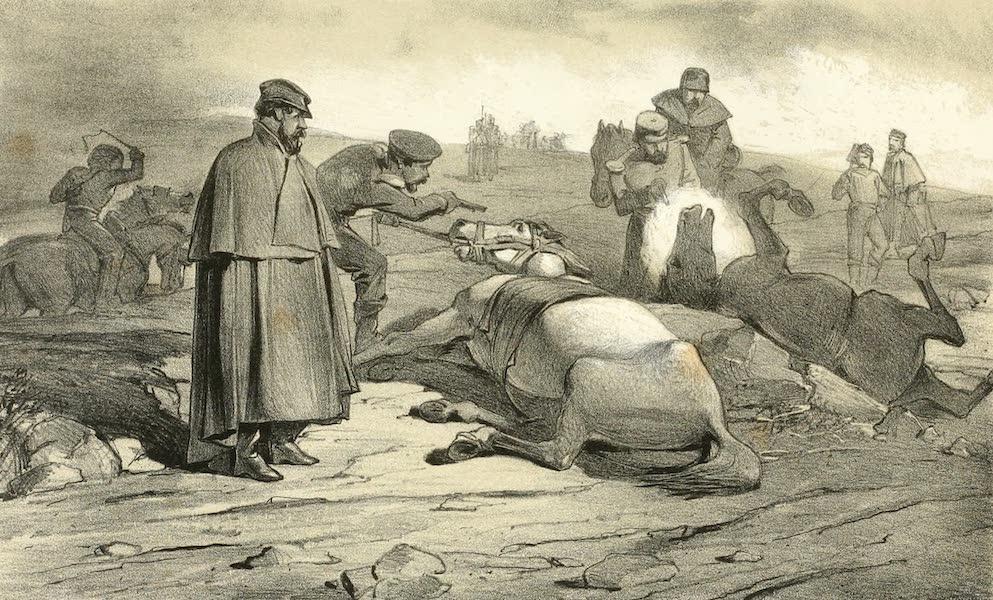 Scutari and It's Hospitals - Scene at the Battle Field (1855)