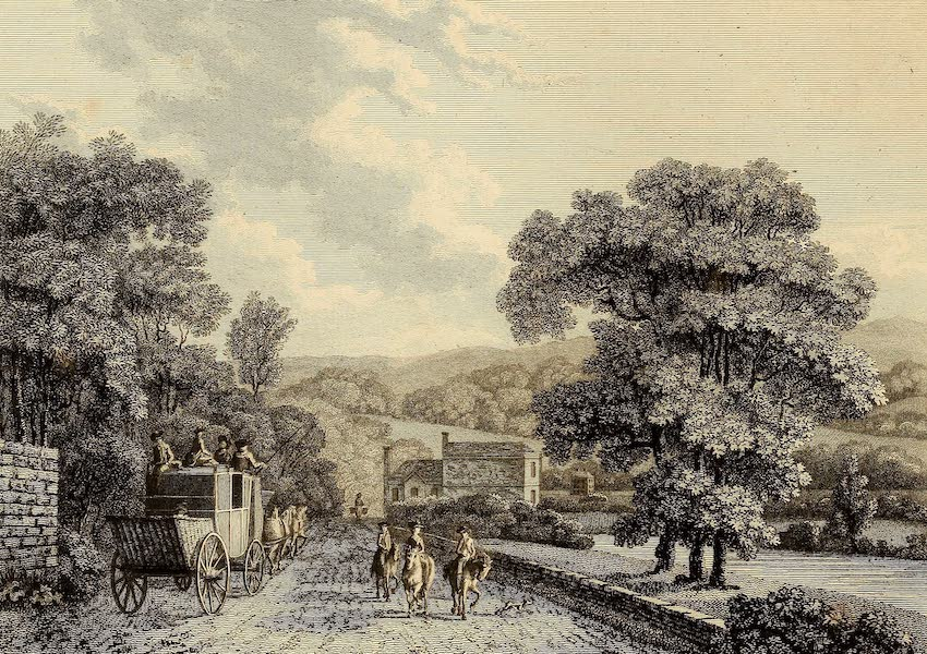 Select Views in Great Britain - View near Bath (1813)