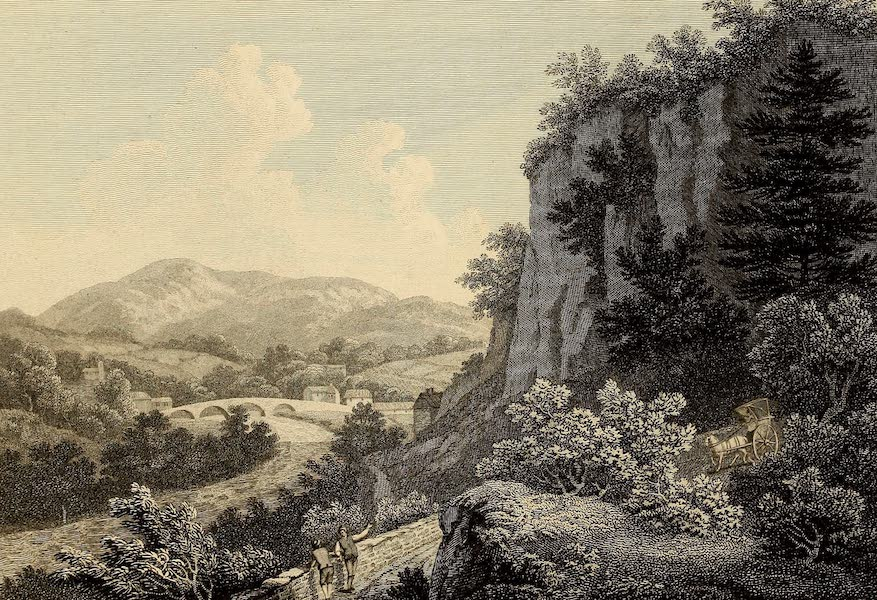 Select Views in Great Britain - View in Matlock Vale (1813)