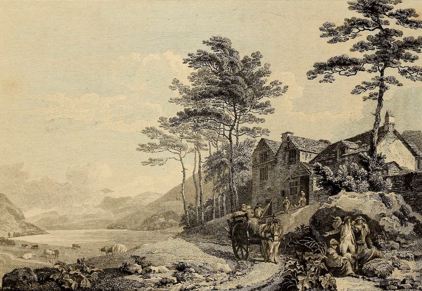 Select Views in Great Britain - Coniston Lake (1813)