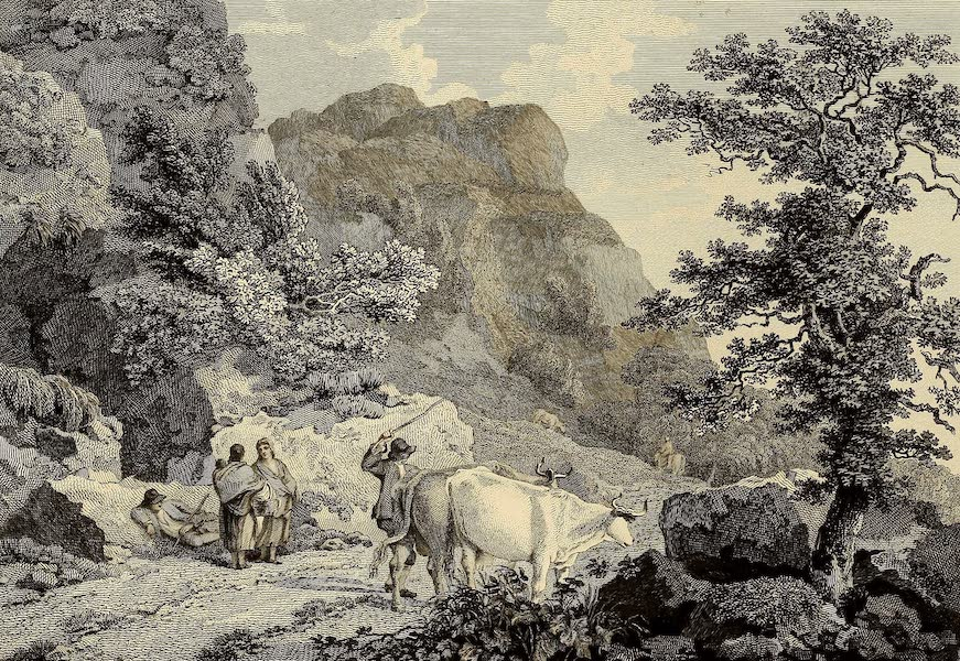 Select Views in Great Britain - View near Ambleside (1813)