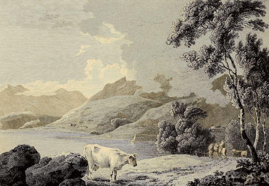Select Views in Great Britain - Winnandermere Lake (1813)
